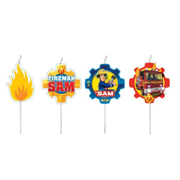 Fireman Sam Candle Set